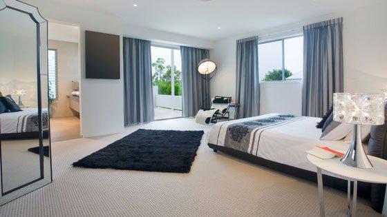 carpet flooring in a bedroom
